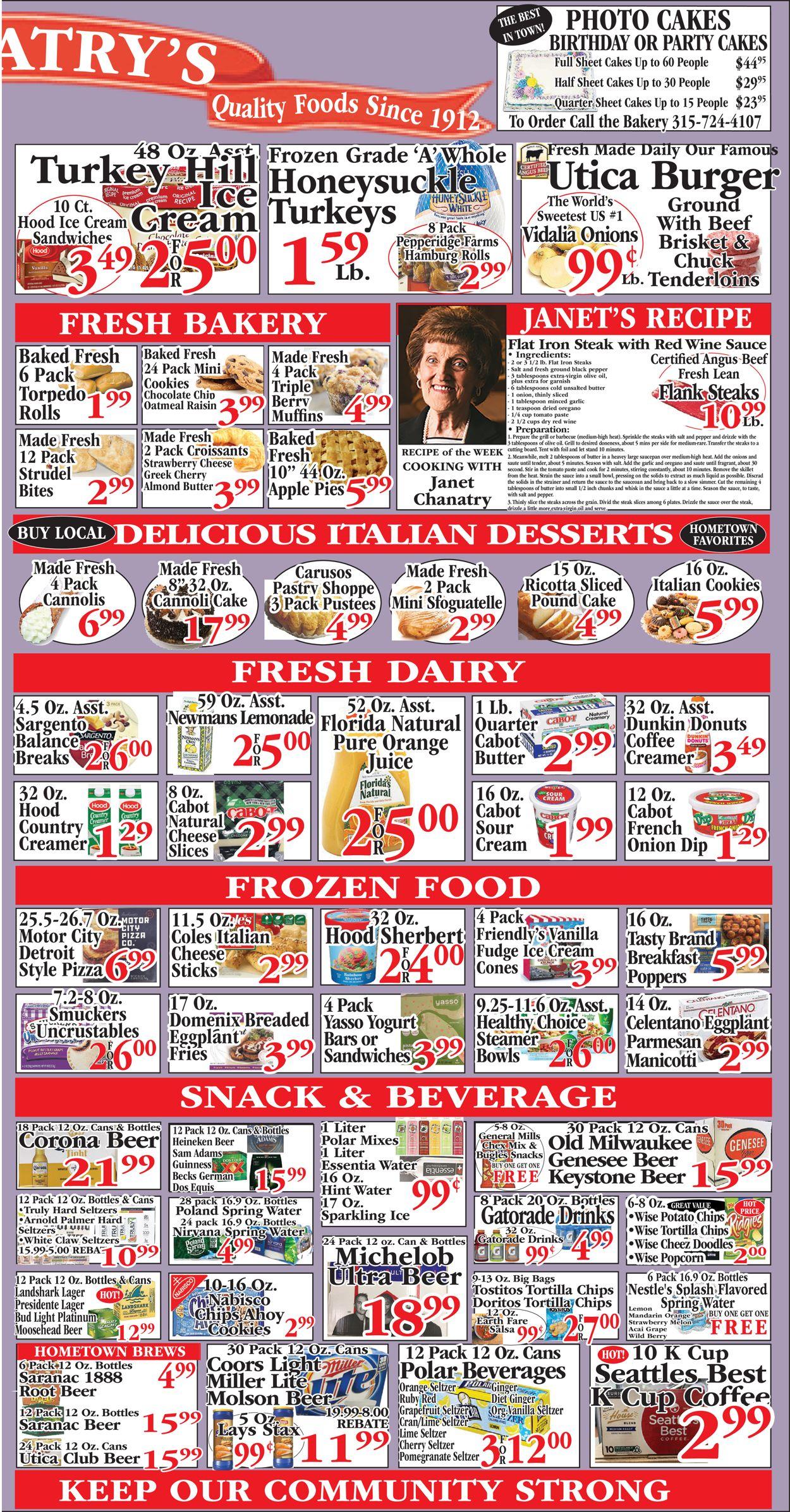 Chanatry's Hometown Market Weekly Ad Circular - valid 07/18-07/24/2021 (Page 3)