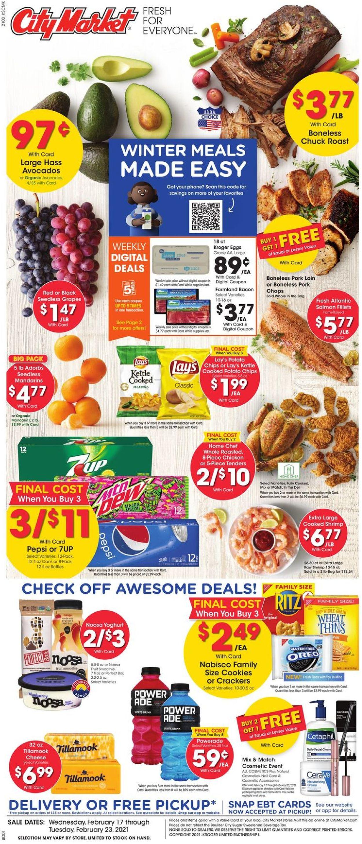 City Market Weekly Ad Circular - valid 02/17-02/23/2021