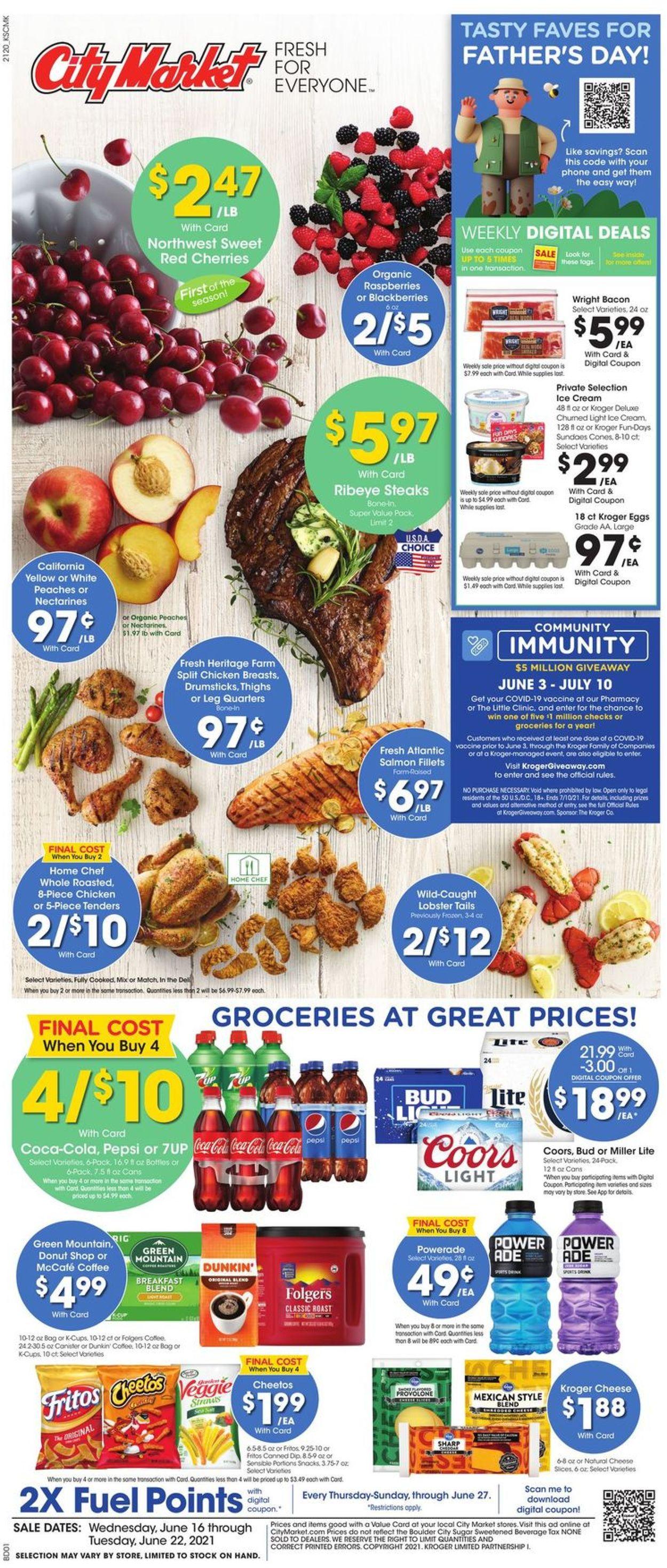 City Market Weekly Ad Circular - valid 06/16-06/22/2021