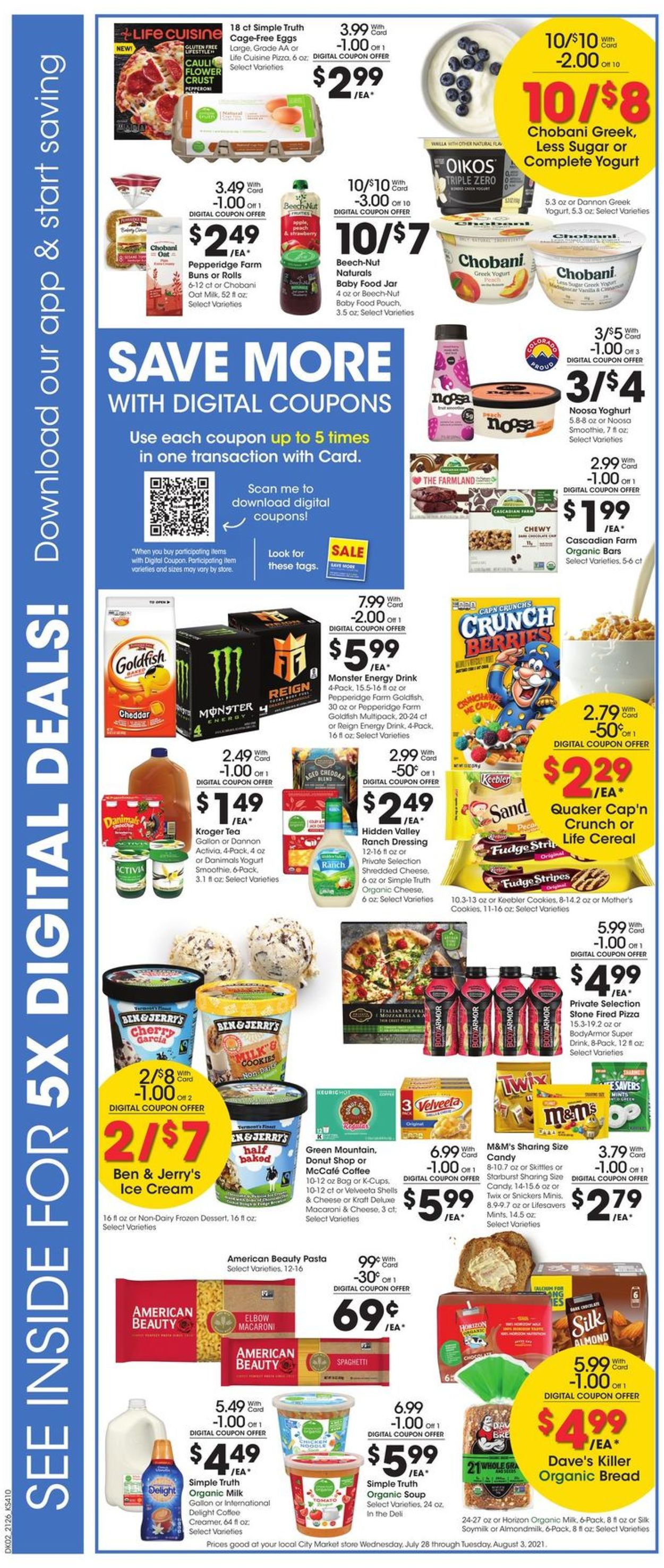 City Market Weekly Ad Circular - valid 07/28-08/03/2021 (Page 5)