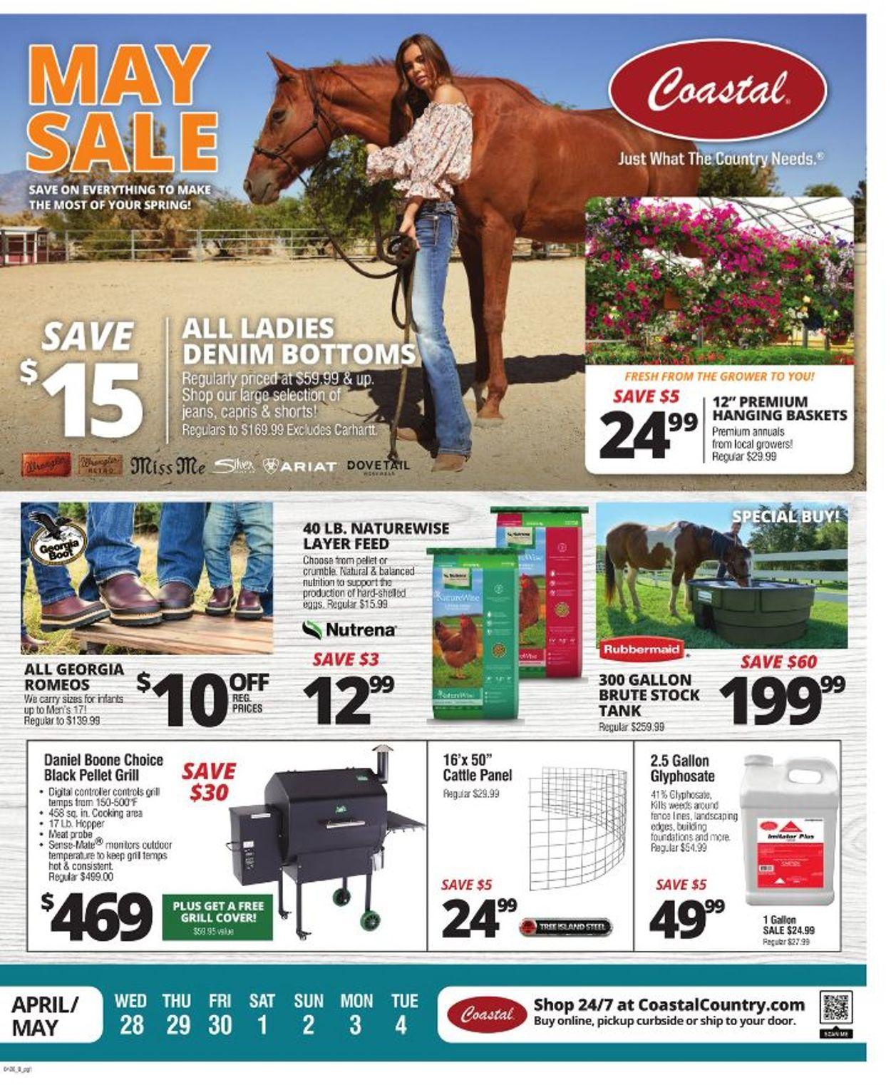Coastal Farm & Ranch Weekly Ad Circular - valid 04/28-05/04/2021