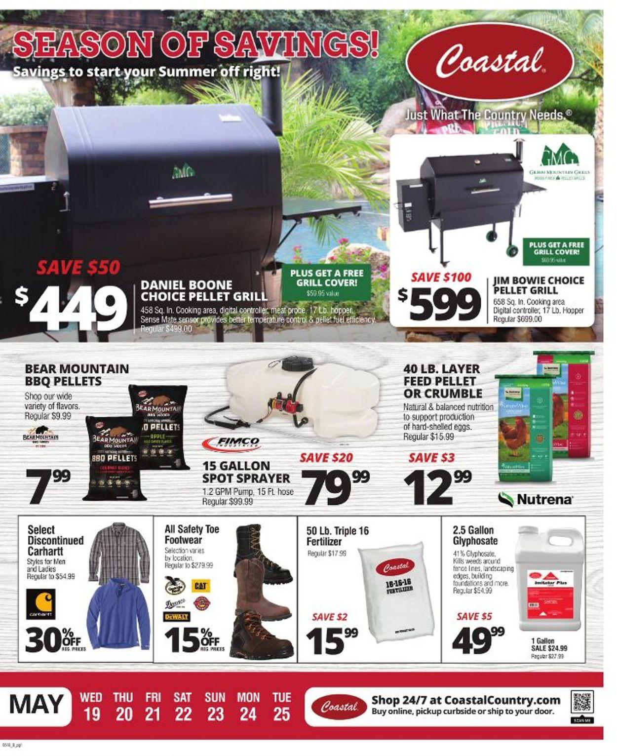 Coastal Farm & Ranch Weekly Ad Circular - valid 05/19-05/25/2021