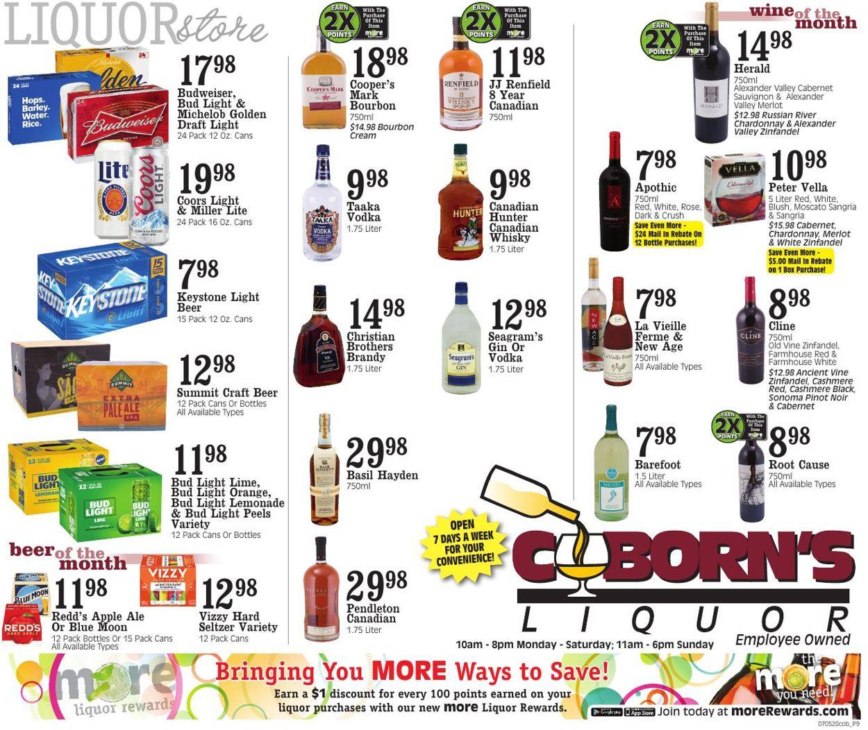 Coborn's Weekly Ad Circular - valid 07/05-07/11/2020