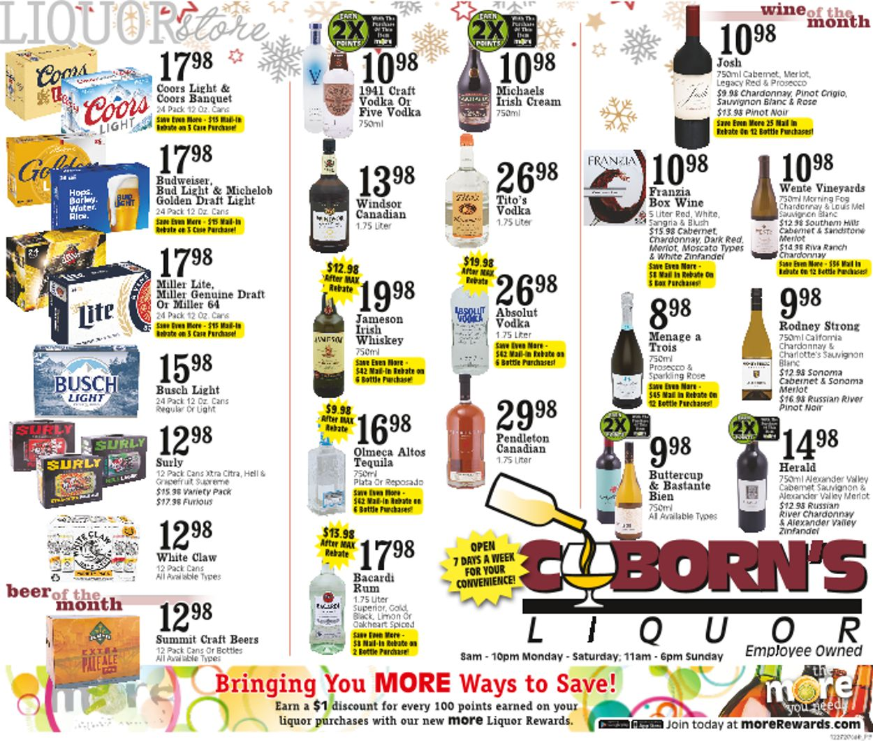 Coborn's Christmas 2020 Weekly Ad Circular - valid 12/23-12/29/2020