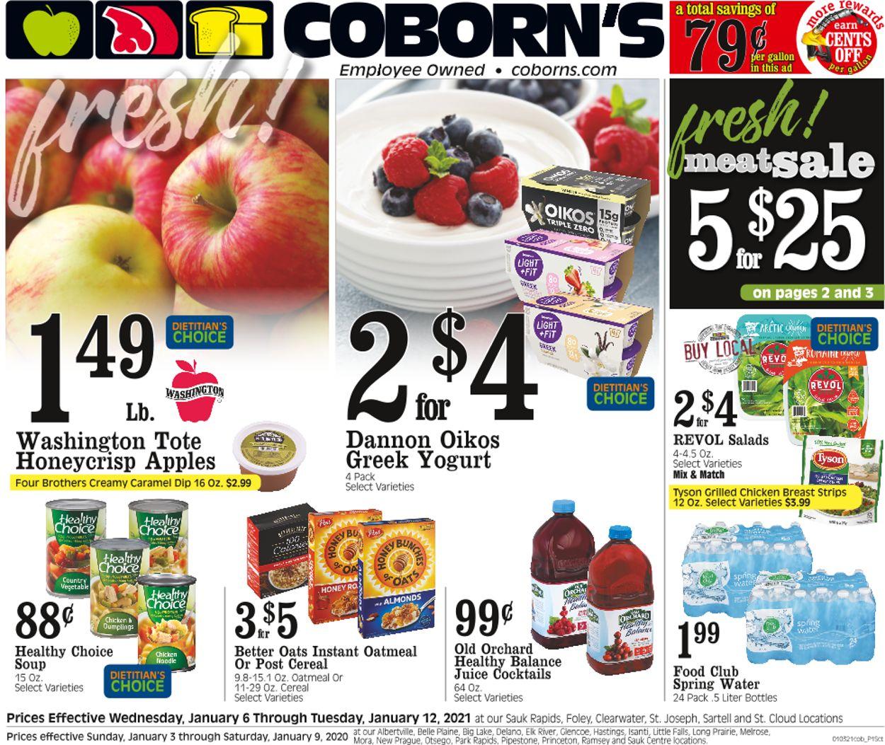 Coborn's Weekly Ad Circular - valid 01/06-01/12/2021