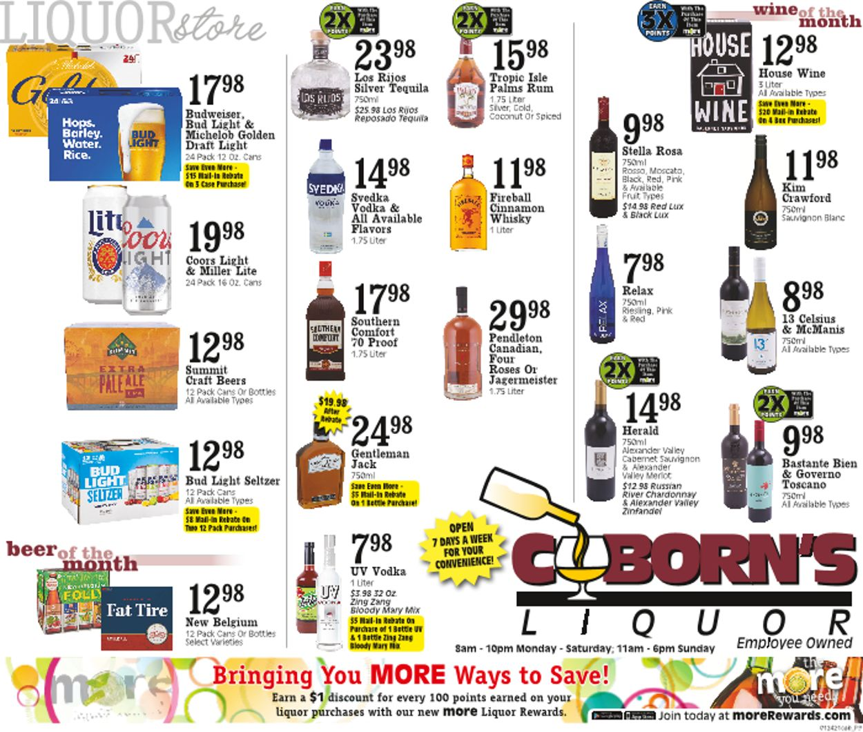 Coborn's Weekly Ad Circular - valid 01/27-02/02/2021