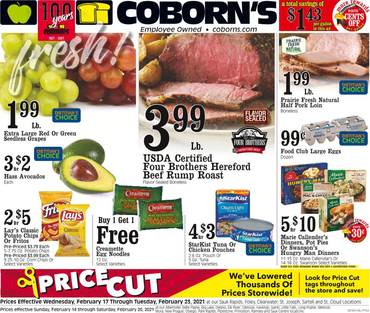 Coborn's Weekly Ad Circular - valid 02/17-02/23/2021