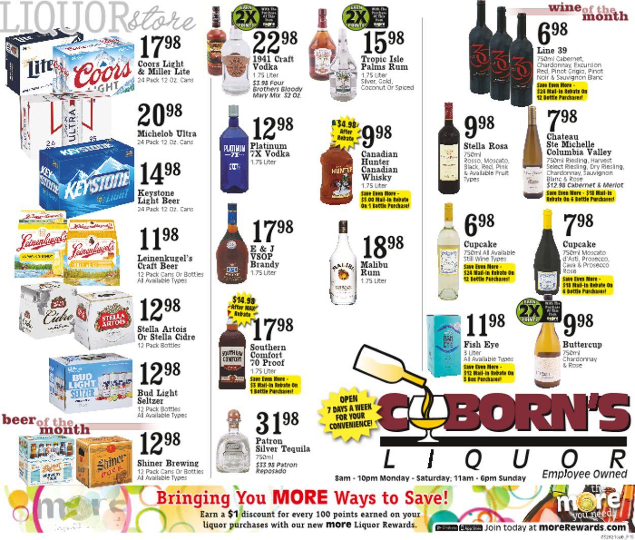 Coborn's Weekly Ad Circular - valid 03/31-04/06/2021