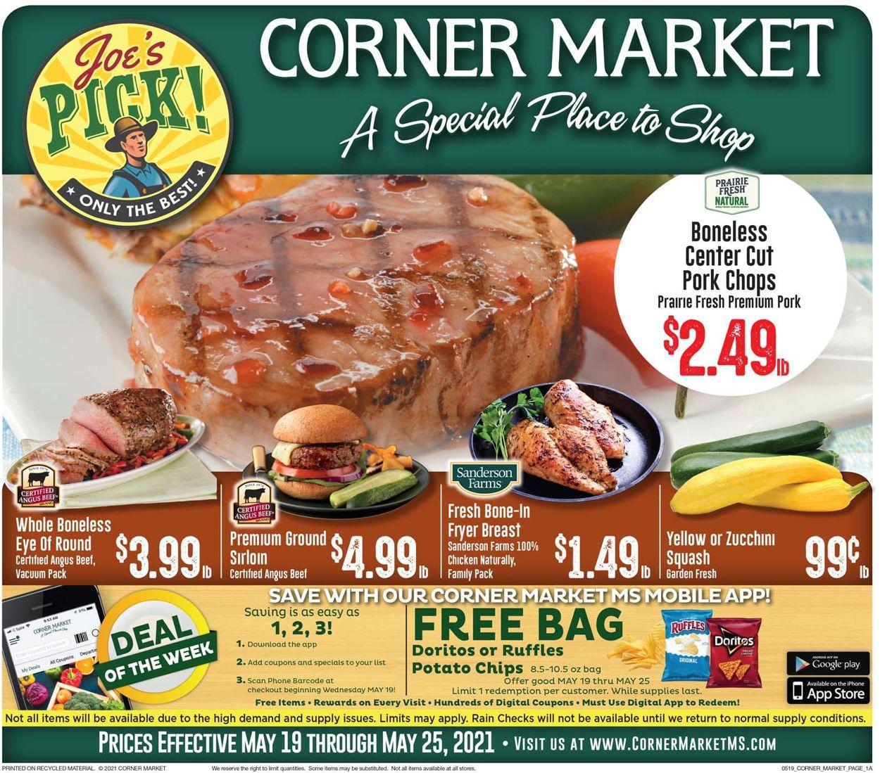Corner Market Weekly Ad Circular - valid 05/19-05/25/2021