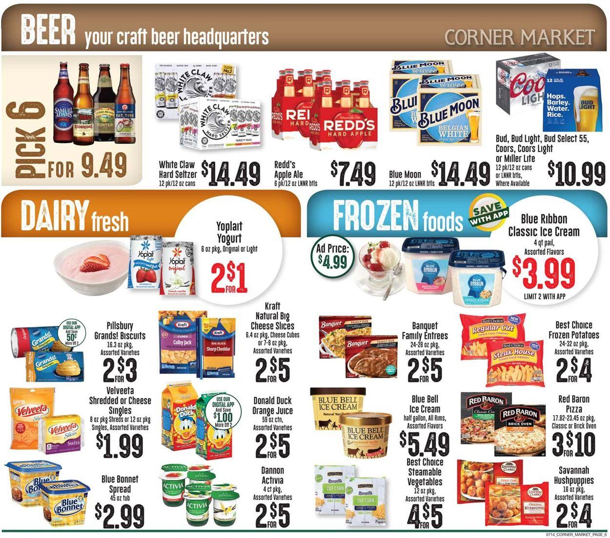 Corner Market Weekly Ad Circular - valid 07/14-07/20/2021 (Page 6)