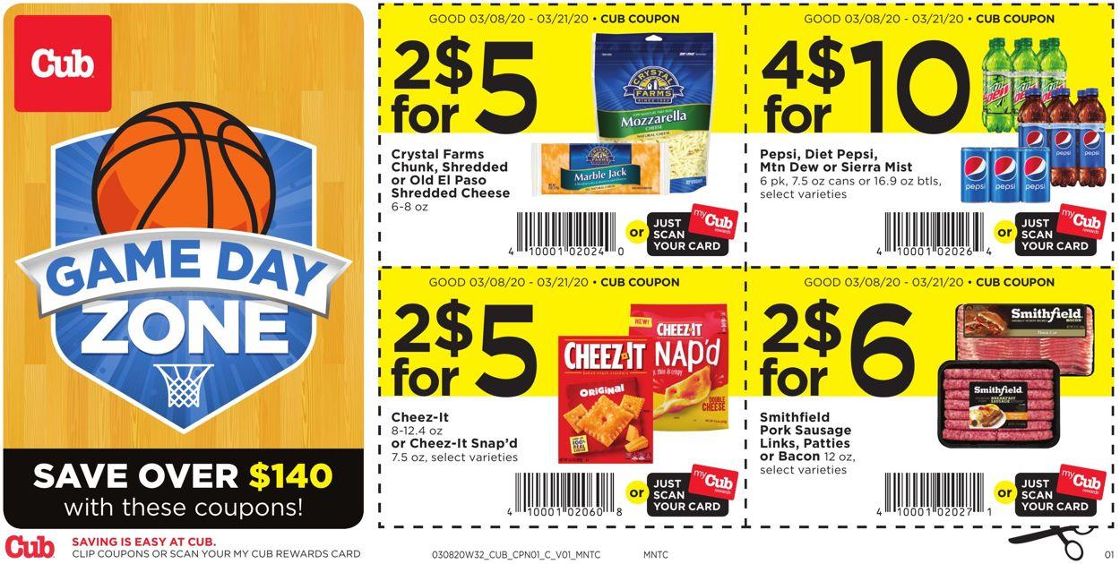 Cub Foods Weekly Ad Circular - valid 03/08-03/21/2020