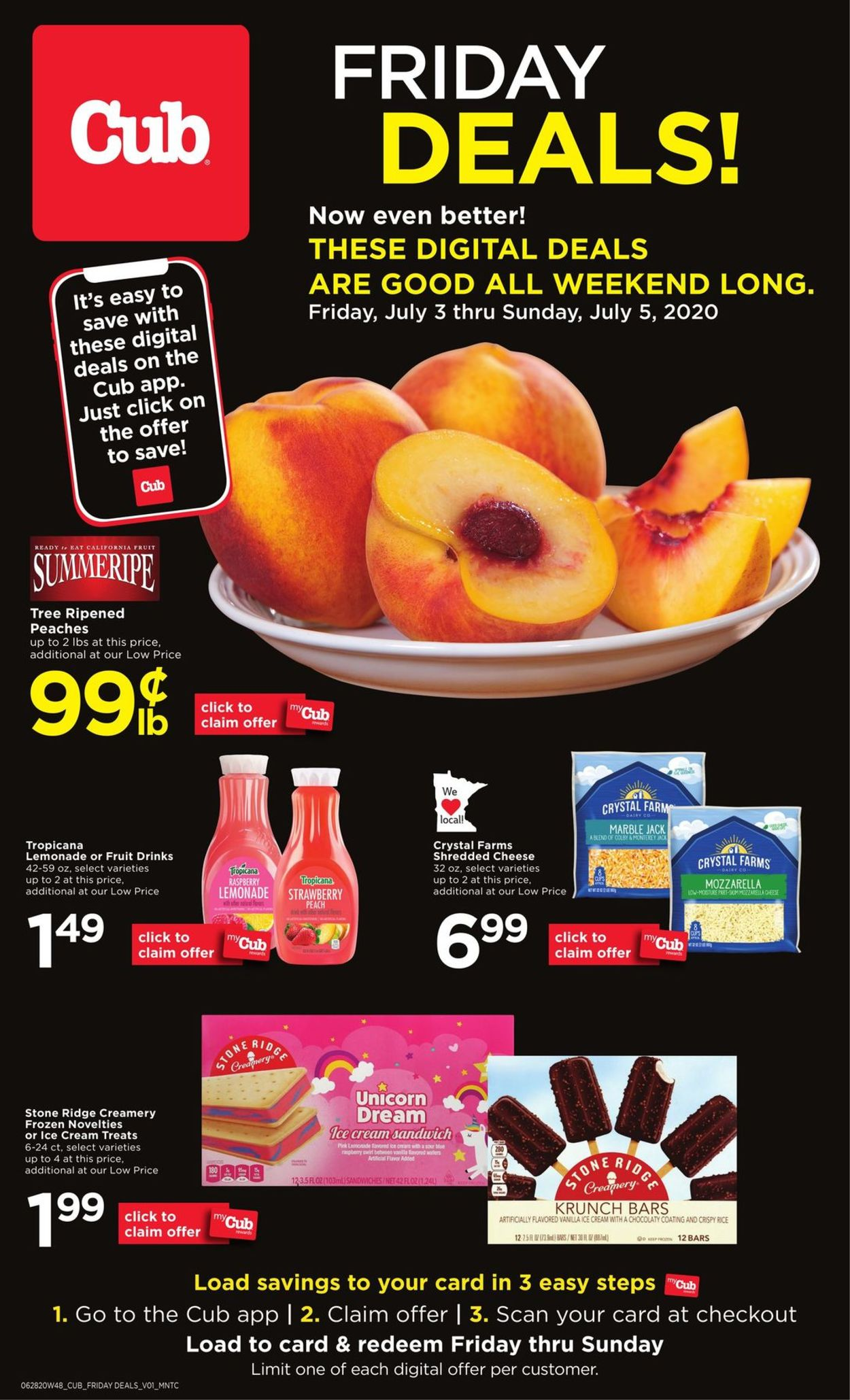 Cub Foods Weekly Ad Circular - valid 07/03-07/05/2020