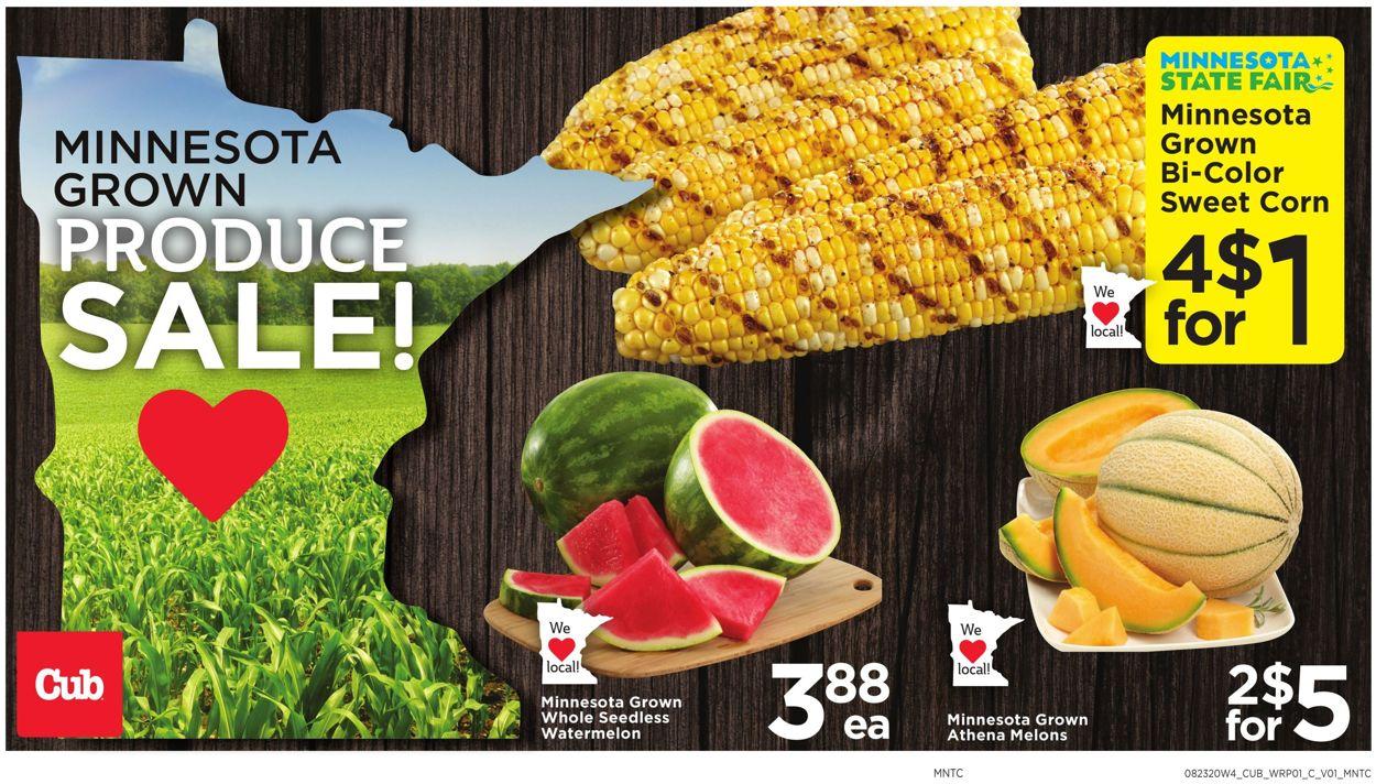 Cub Foods Weekly Ad Circular - valid 08/23-08/29/2020