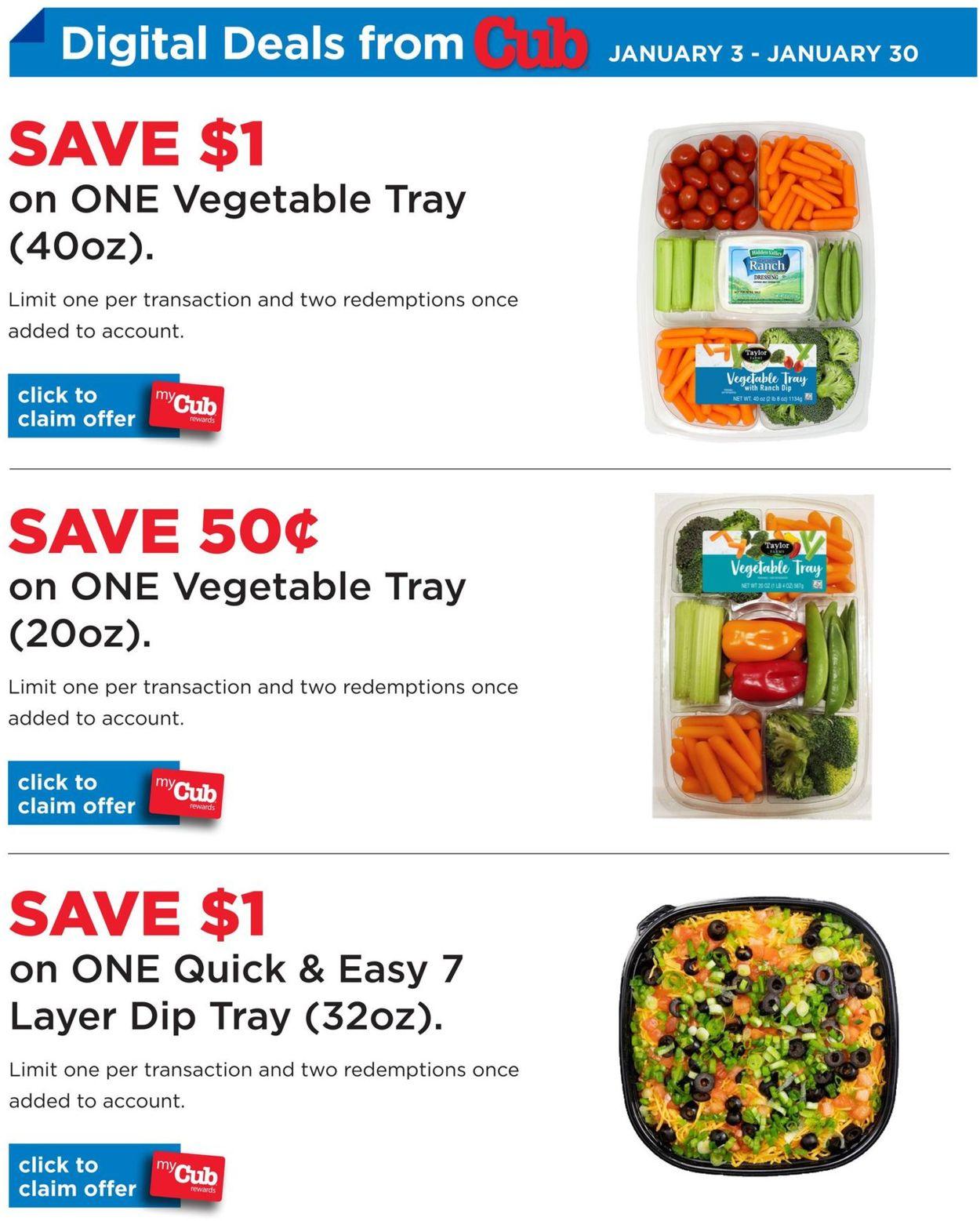 Cub Foods Digital Deals 2021 Weekly Ad Circular - valid 01/03-01/30/2021