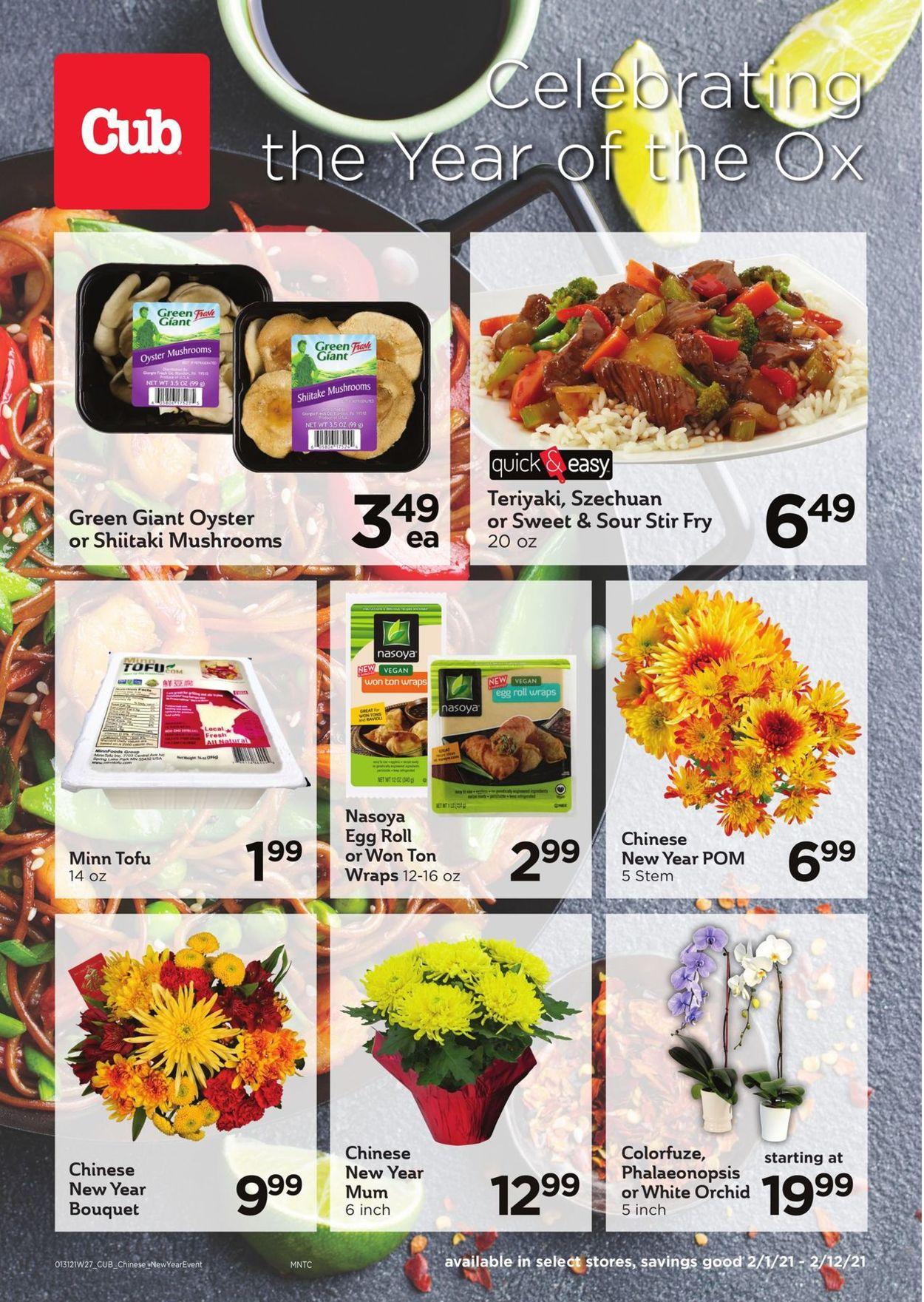 Cub Foods Weekly Ad Circular - valid 02/01-02/12/2021