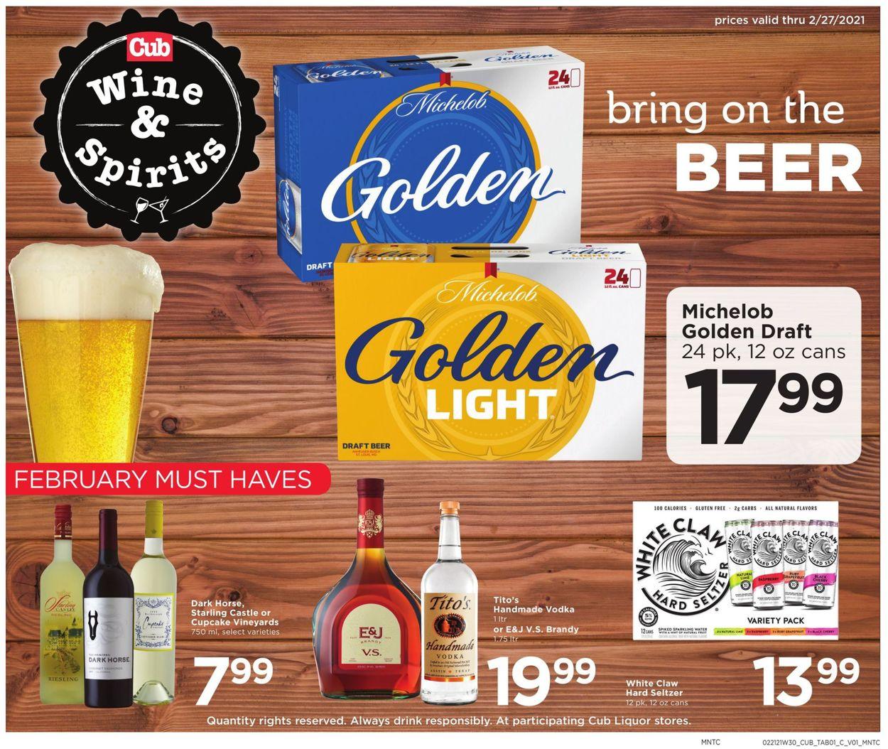 Cub Foods Weekly Ad Circular - valid 02/21-02/27/2021