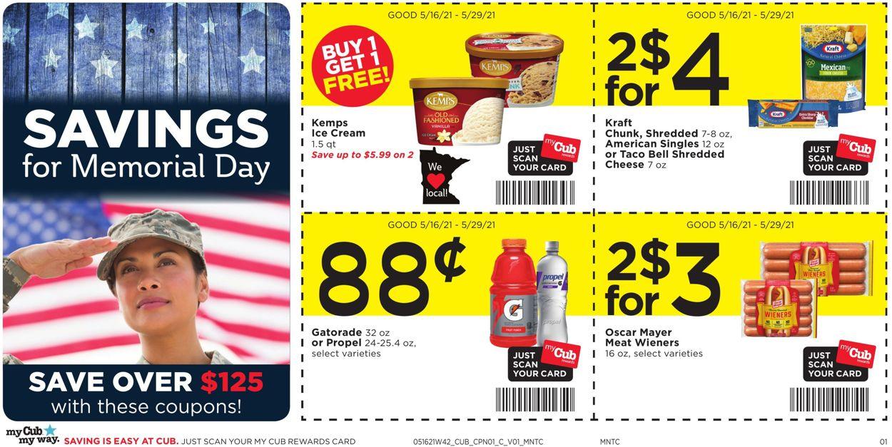 Cub Foods Weekly Ad Circular - valid 05/16-05/29/2021