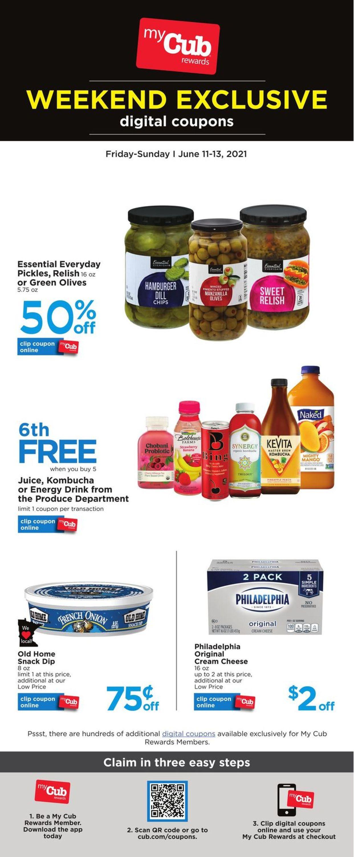 Cub Foods Weekly Ad Circular - valid 06/11-06/13/2021