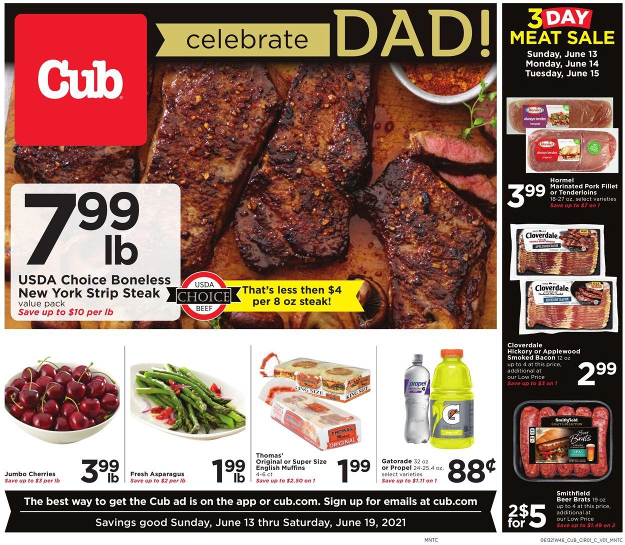 Cub Foods Weekly Ad Circular - valid 06/13-06/19/2021