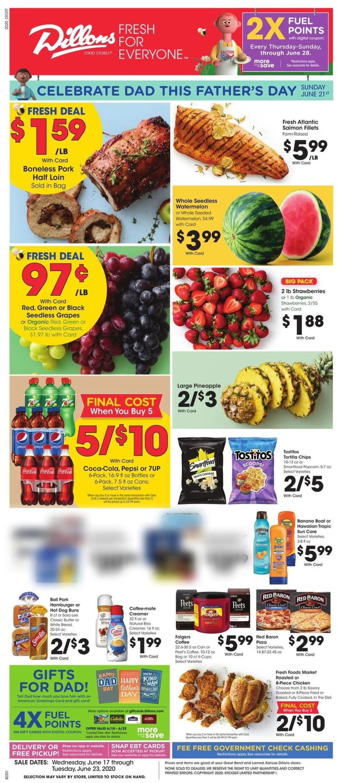 Dillons Weekly Ad Circular - valid 06/17-06/23/2020