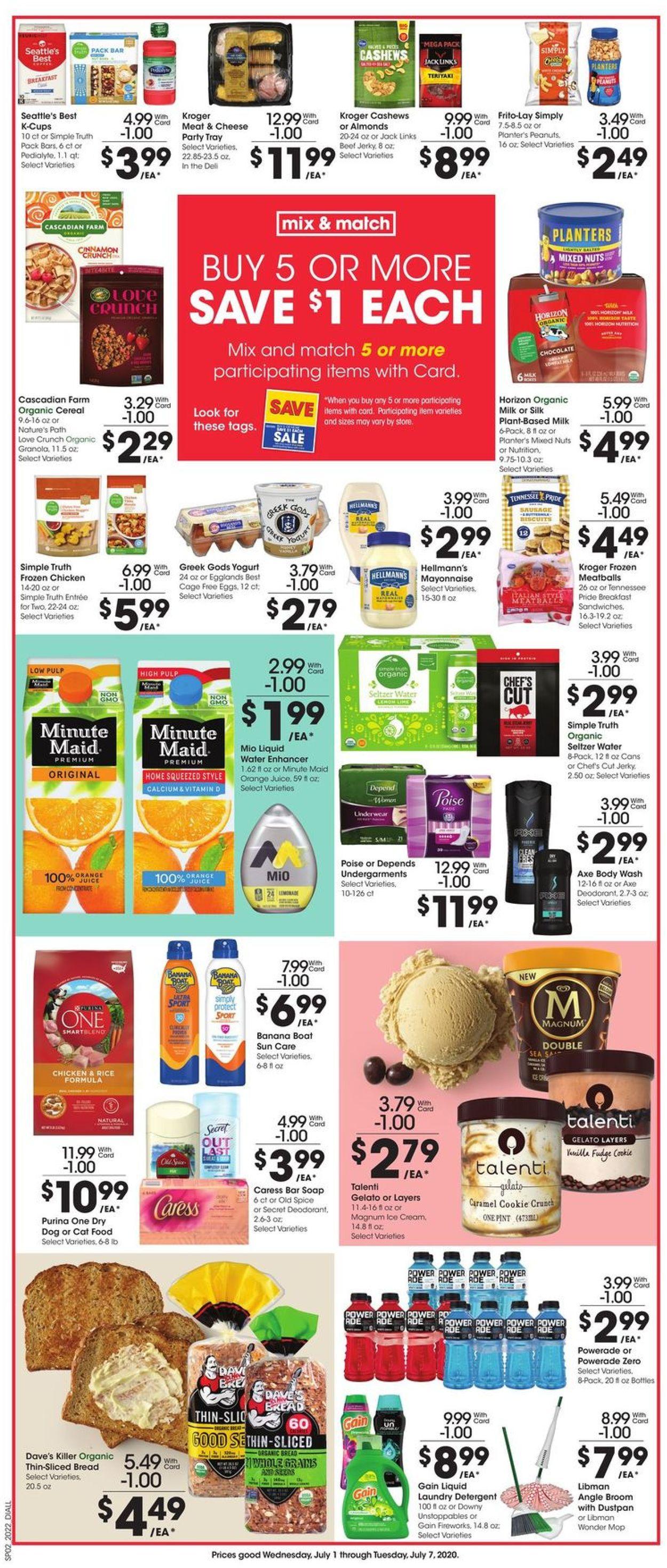 Dillons Weekly Ad Circular - valid 07/01-07/07/2020 (Page 3)