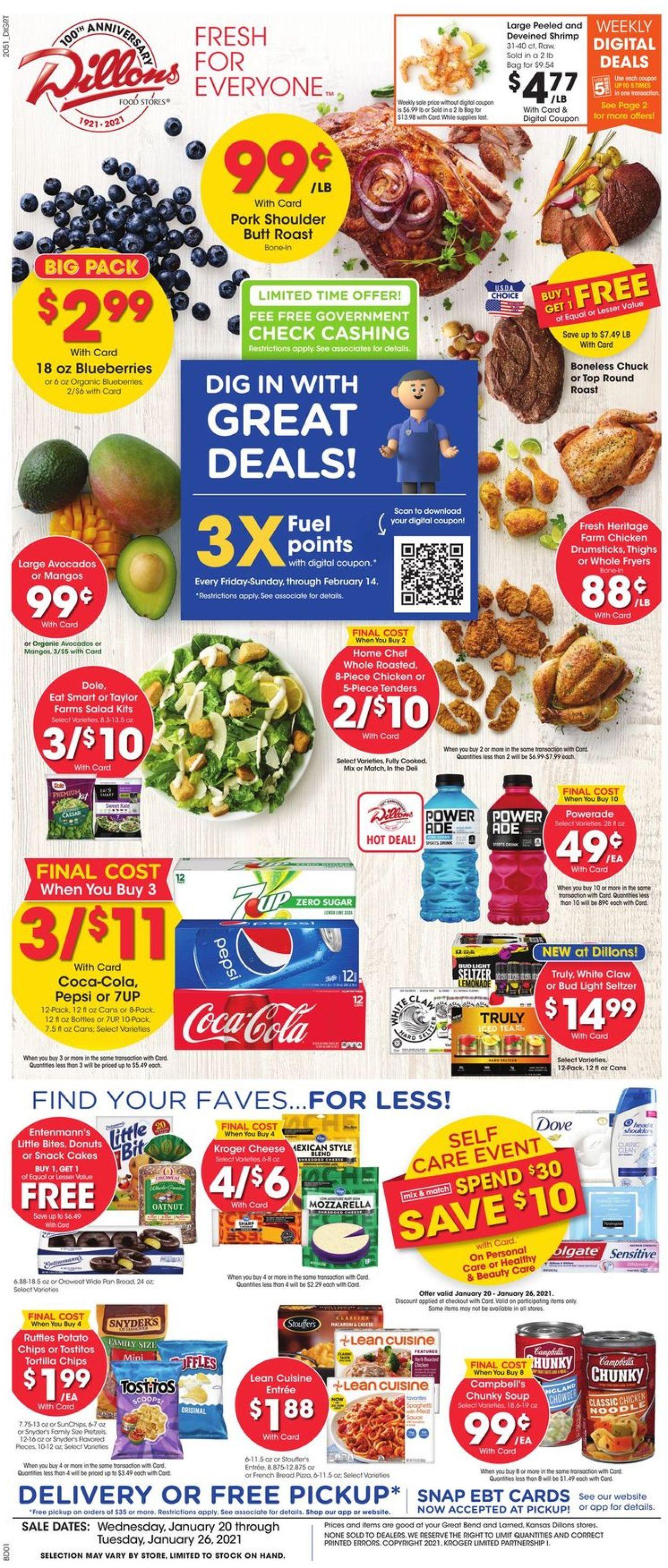 Dillons Weekly Ad Circular - valid 01/20-01/26/2021