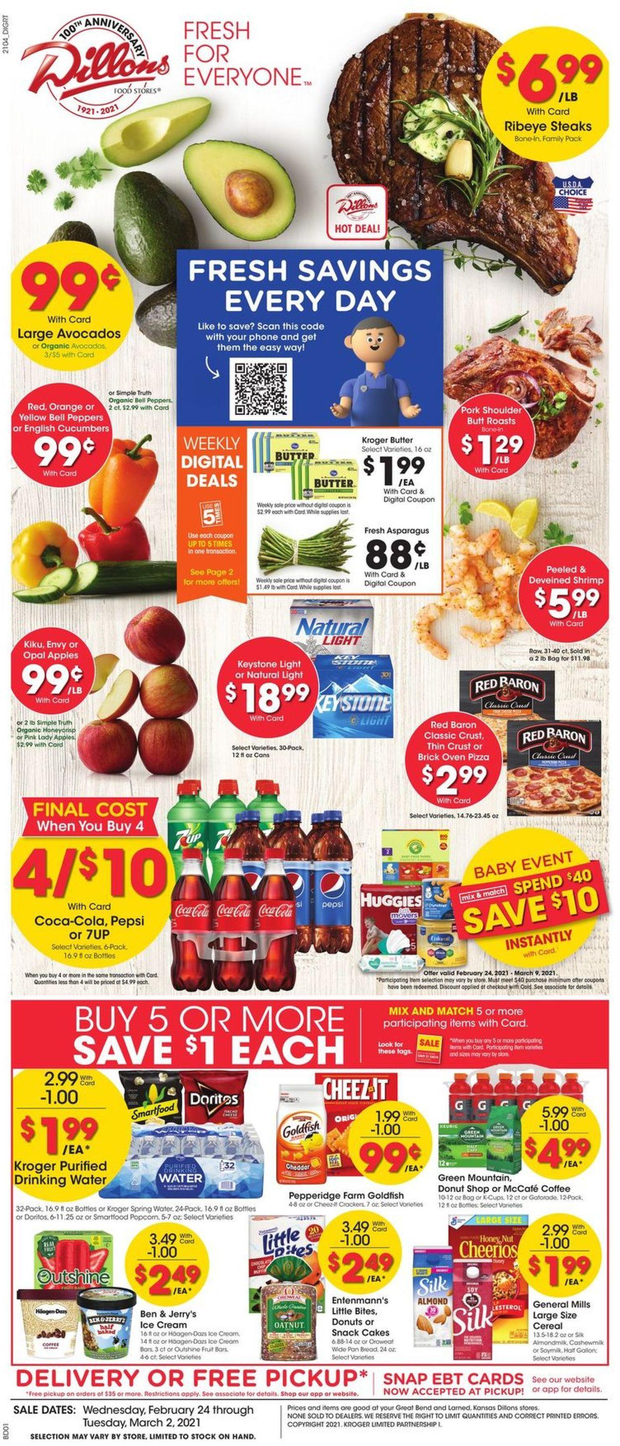 Dillons Weekly Ad Circular - valid 02/24-03/02/2021