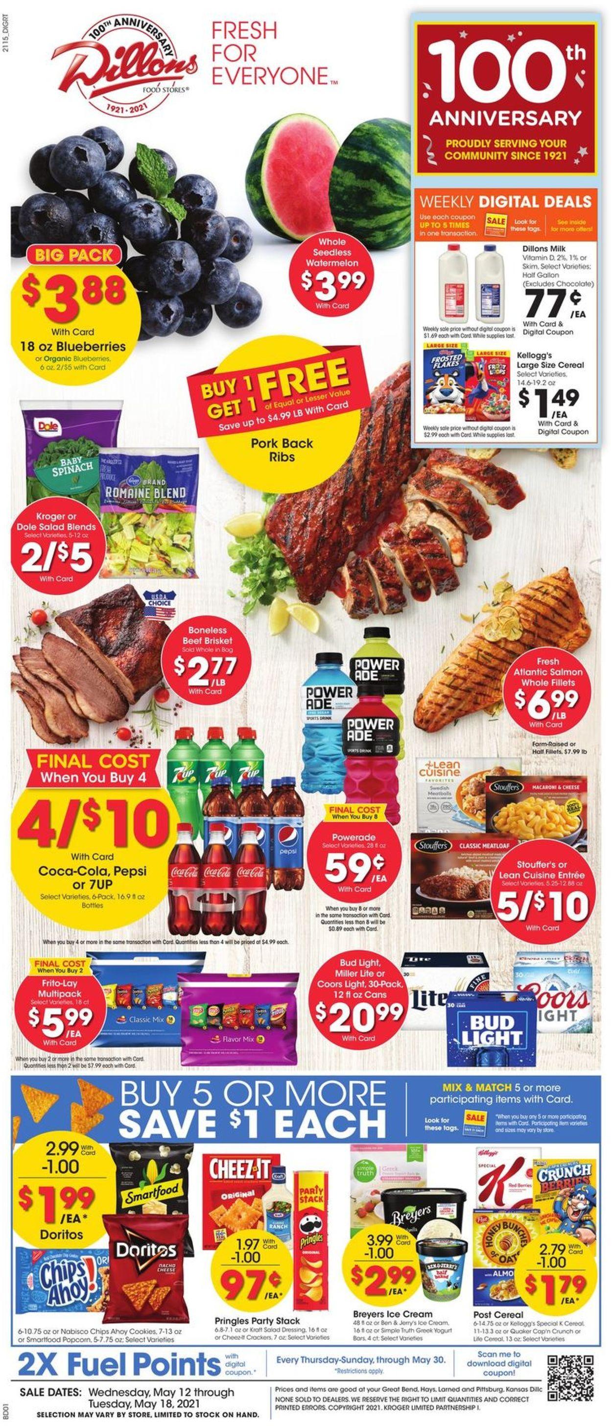 Dillons Weekly Ad Circular - valid 05/12-05/18/2021