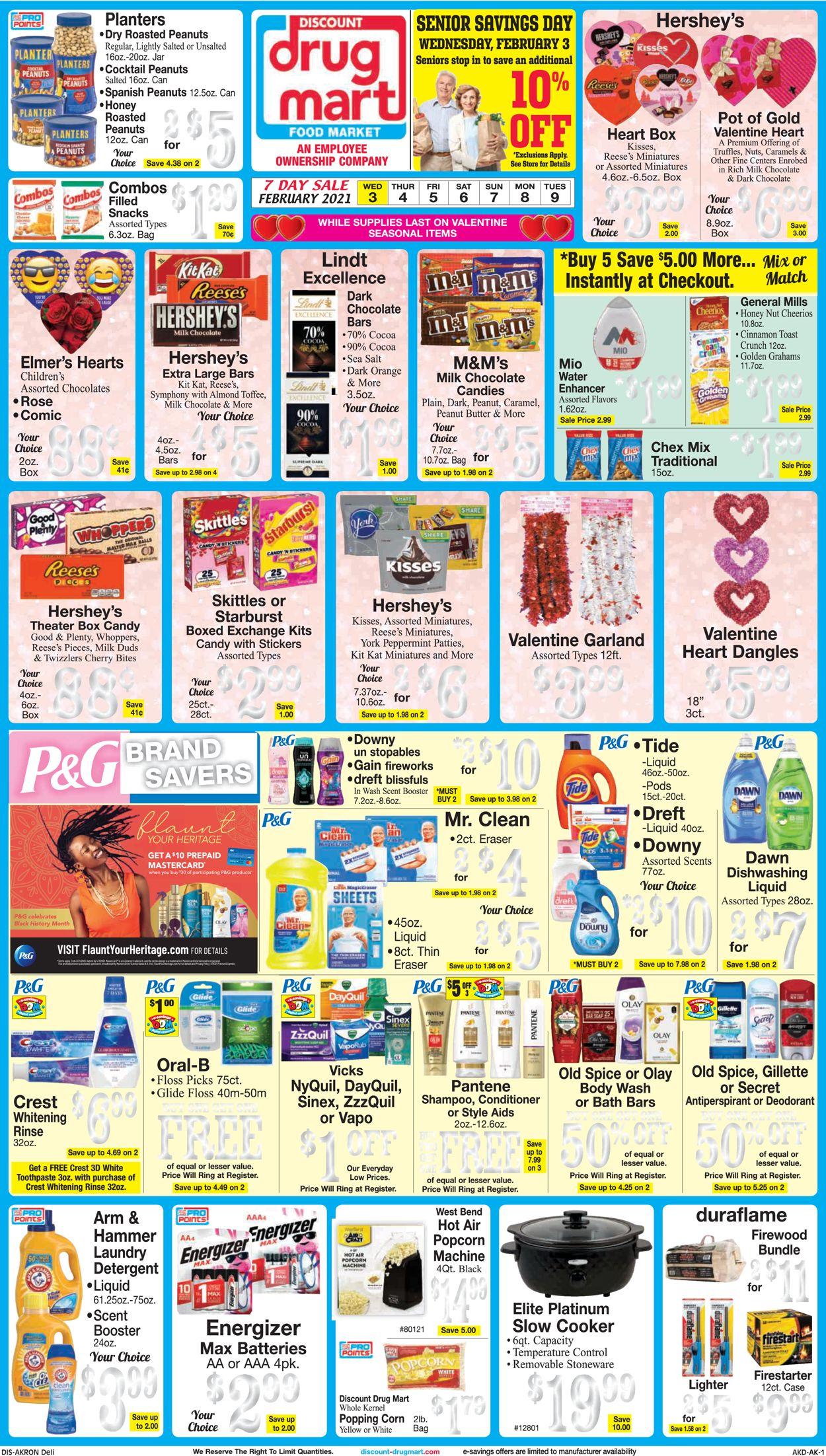 Discount Drug Mart Weekly Ad Circular - valid 02/03-02/09/2021