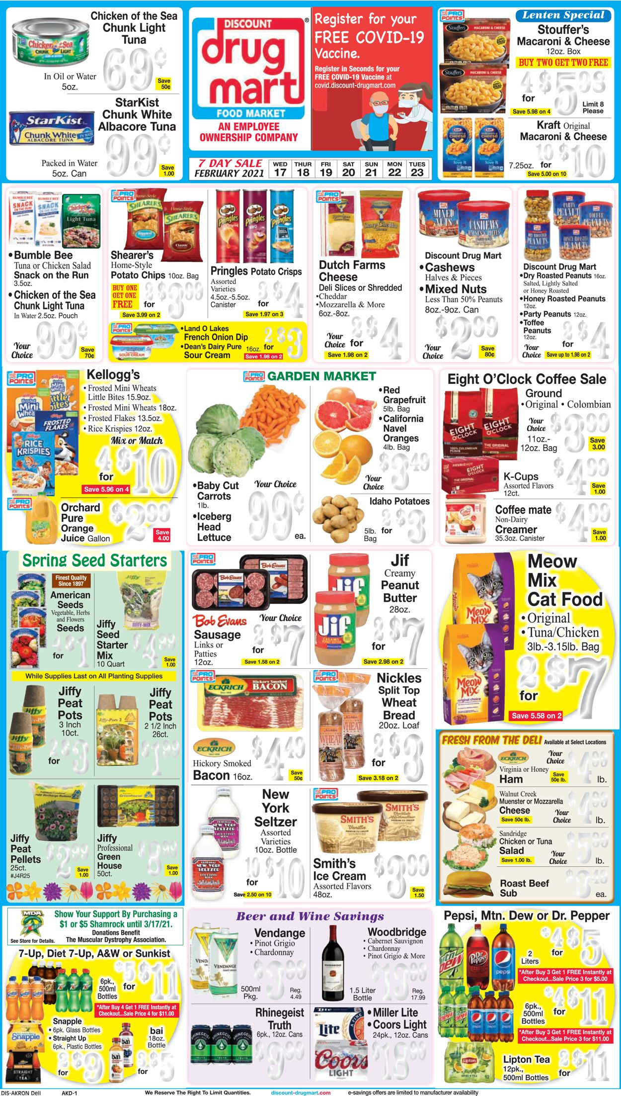 Discount Drug Mart Weekly Ad Circular - valid 02/17-02/23/2021