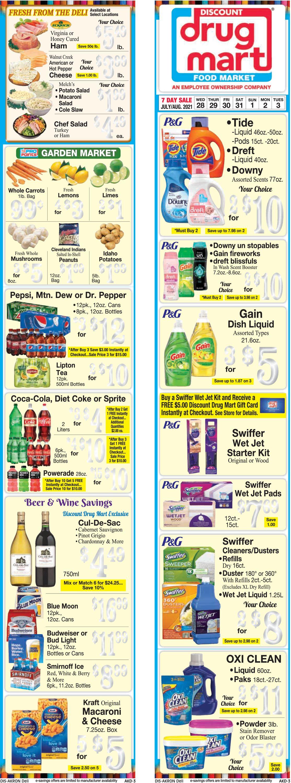 Discount Drug Mart Weekly Ad Circular - valid 07/28-08/03/2021 (Page 3)
