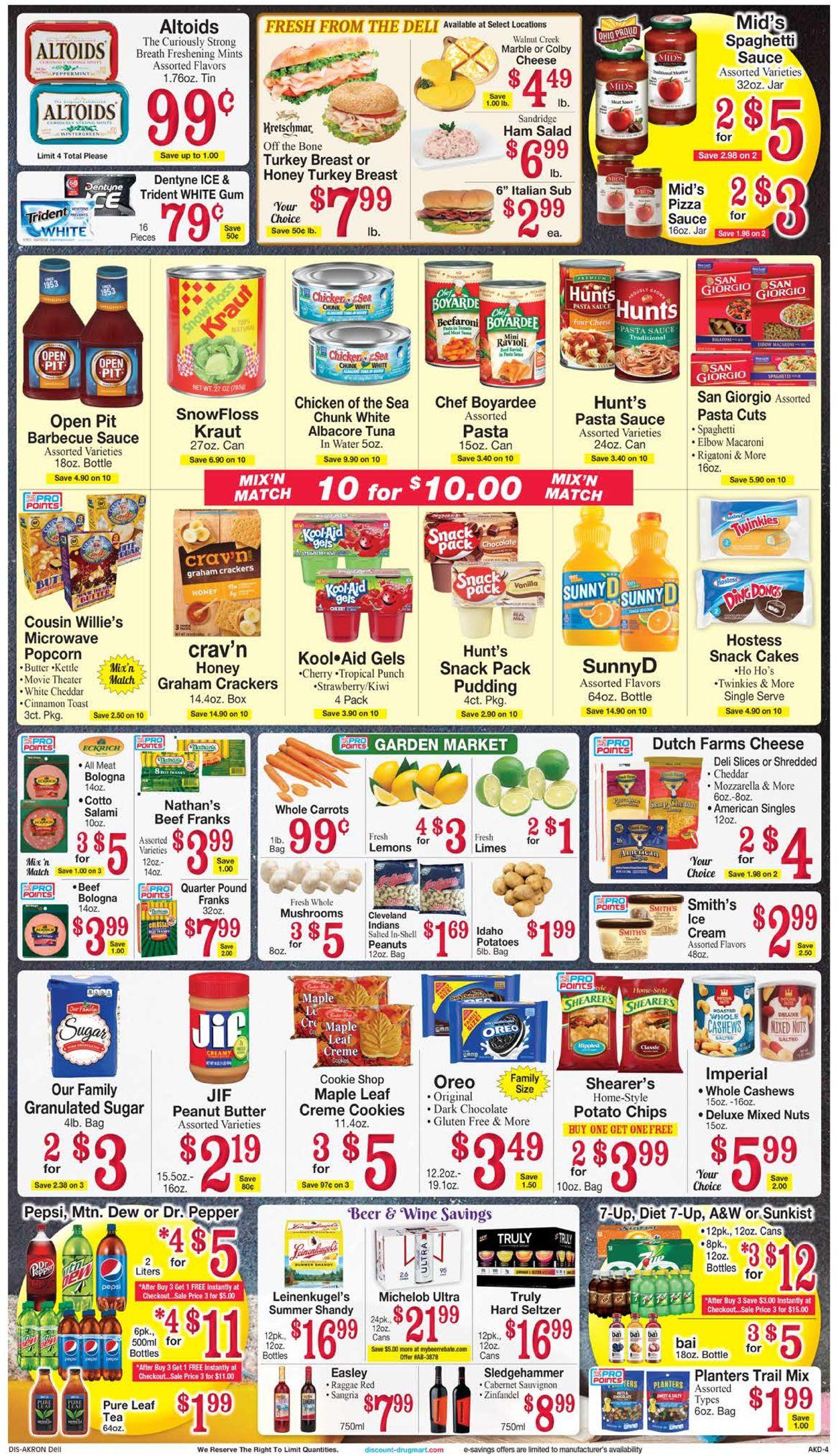 Discount Drug Mart Weekly Ad Circular - valid 08/04-08/10/2021 (Page 4)