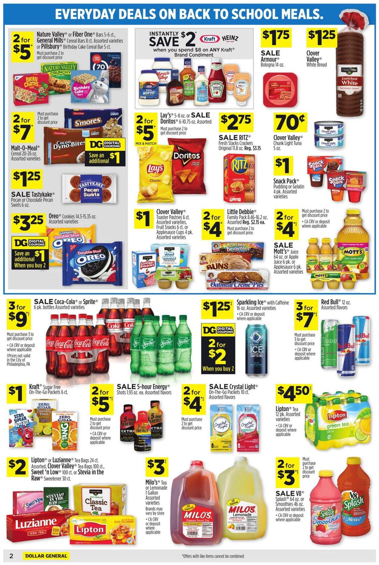 Dollar General Weekly Ad Circular - valid 07/11-07/17/2021 (Page 5)