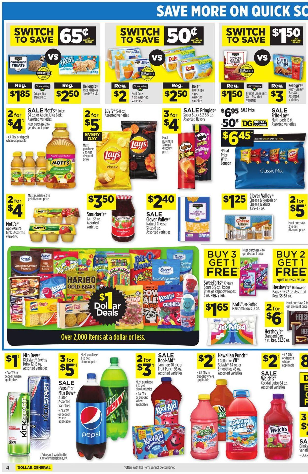 Dollar General Weekly Ad Circular - valid 07/25-07/31/2021 (Page 5)