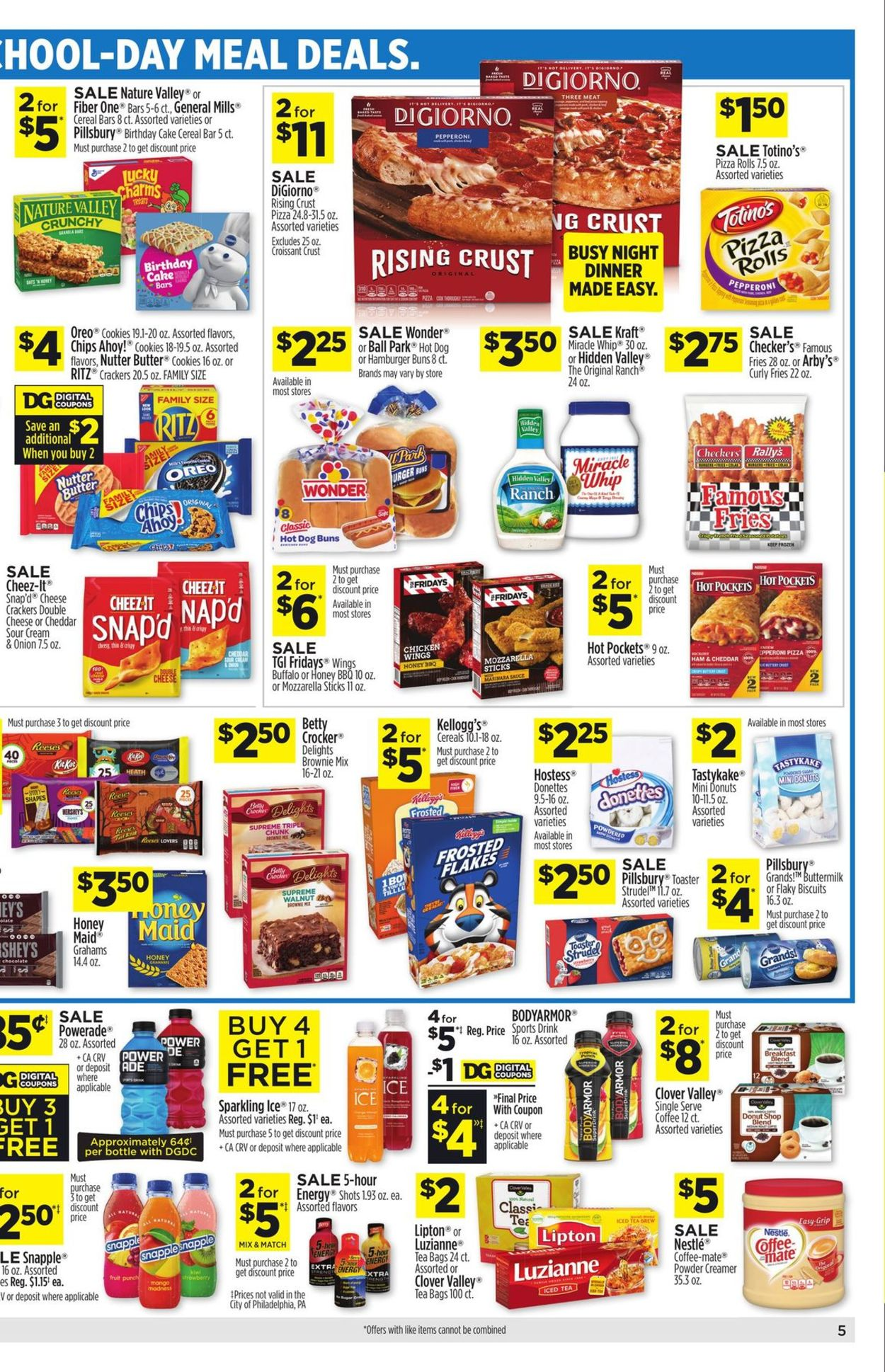 Dollar General Weekly Ad Circular - valid 07/25-07/31/2021 (Page 6)
