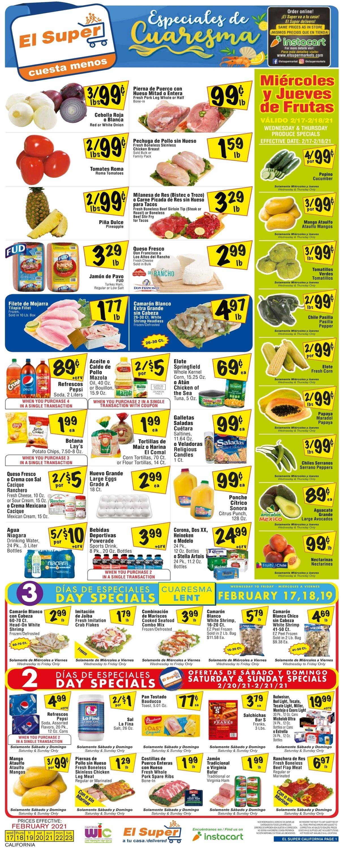 El Super Weekly Ad Circular - valid 02/17-02/23/2021