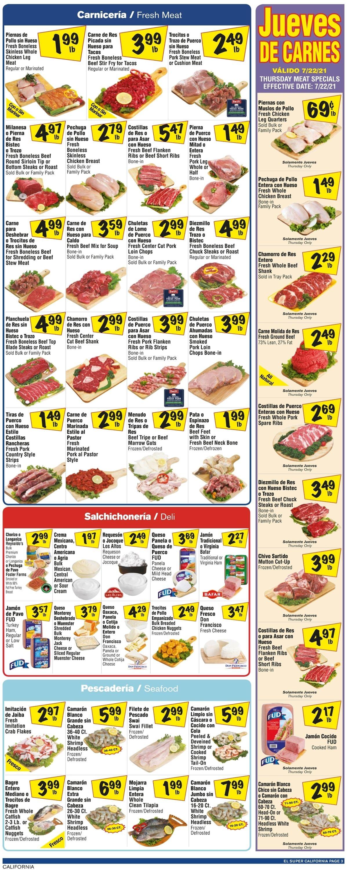El Super Weekly Ad Circular - valid 07/21-07/27/2021 (Page 3)