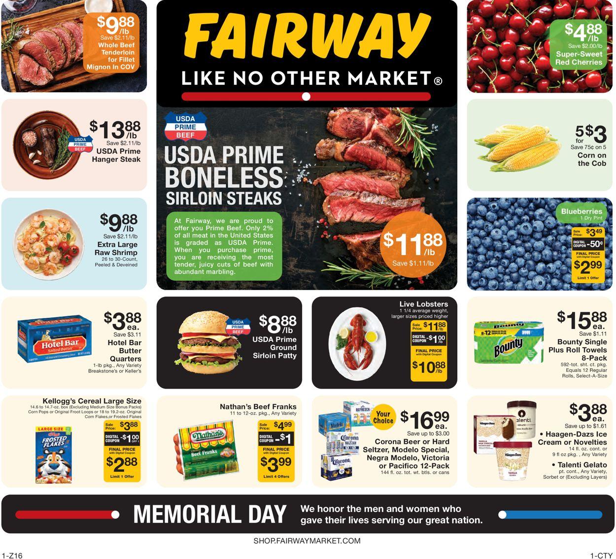 Fairway Market Weekly Ad Circular - valid 05/28-06/03/2021