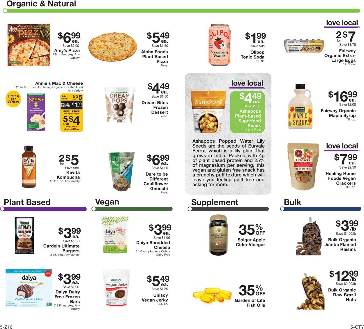 Fairway Market Weekly Ad Circular - valid 07/23-07/29/2021 (Page 5)