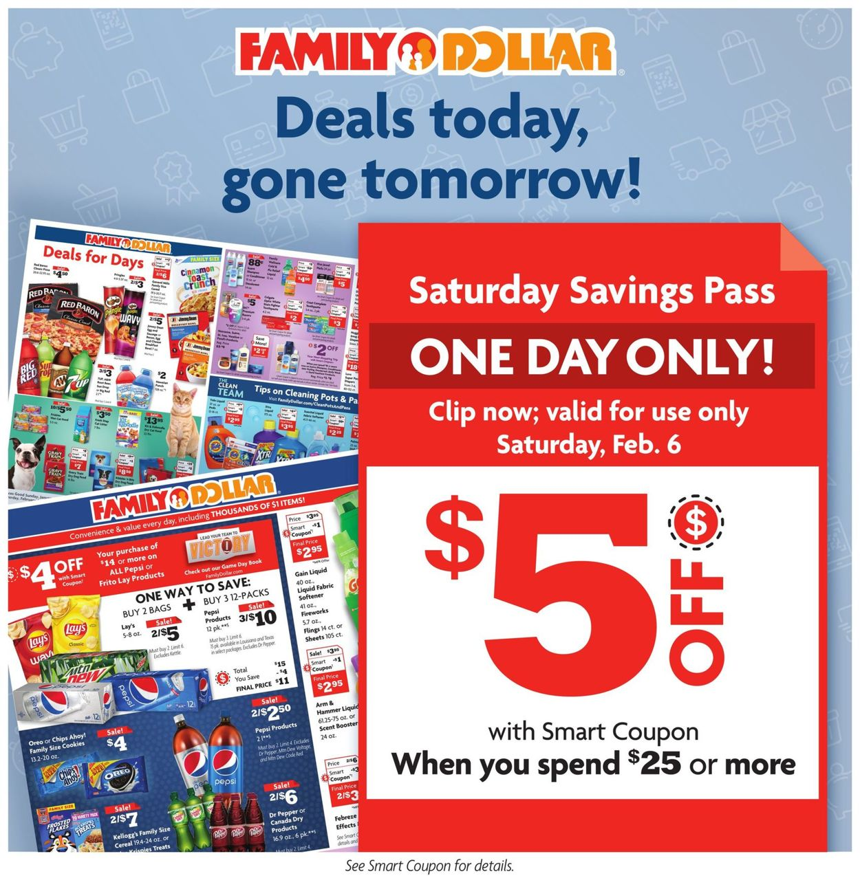 Family Dollar Weekly Ad Circular - valid 01/31-02/06/2021