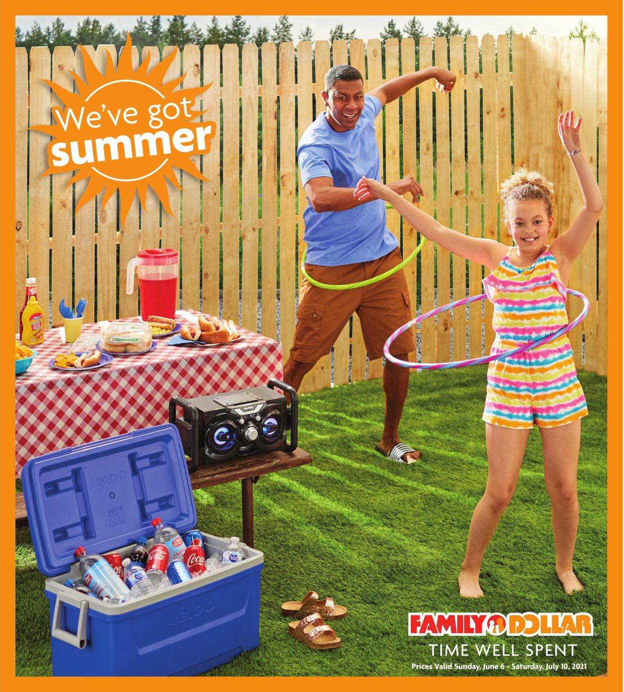 Family Dollar Weekly Ad Circular - valid 06/06-07/10/2021