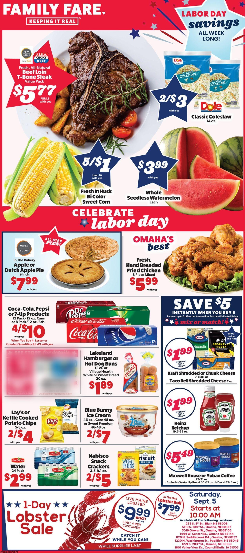 Family Fare Weekly Ad Circular - valid 09/02-09/08/2020