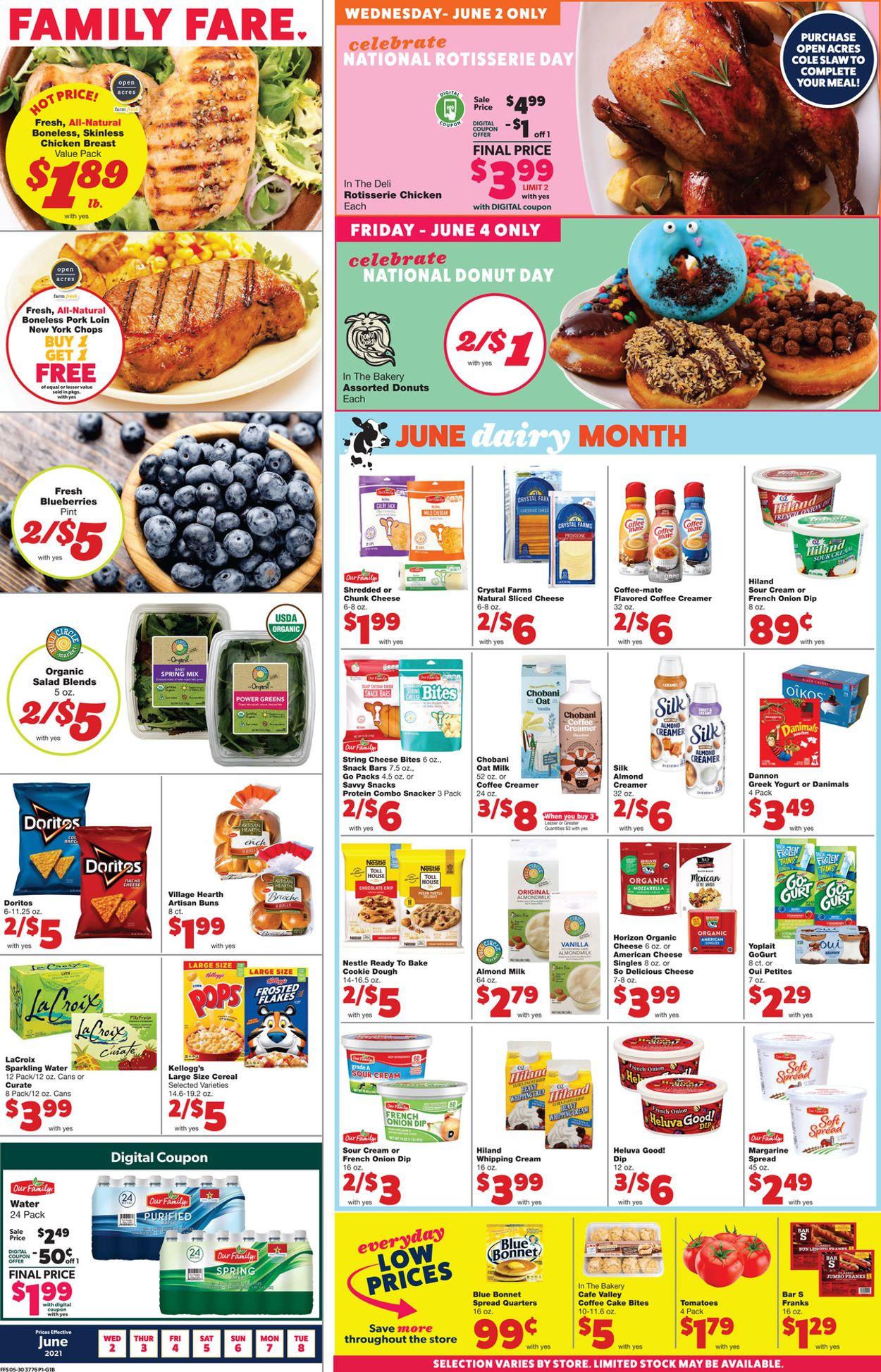 Family Fare Weekly Ad Circular - valid 06/02-06/08/2021