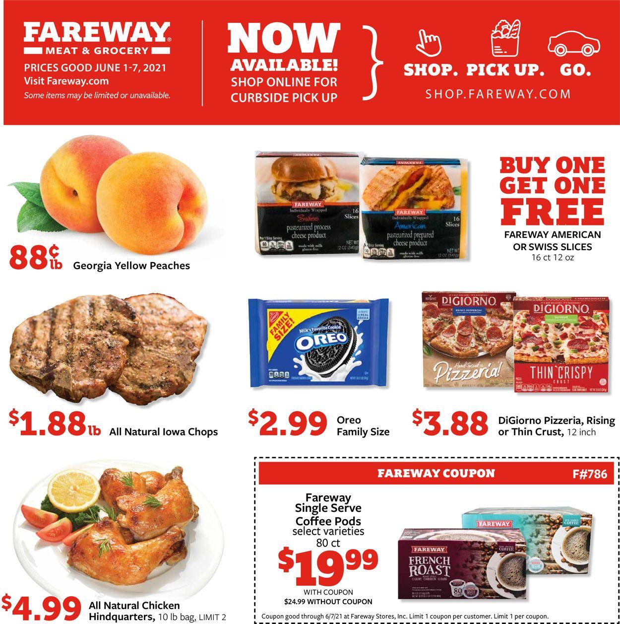 Fareway Weekly Ad Circular - valid 06/01-06/07/2021