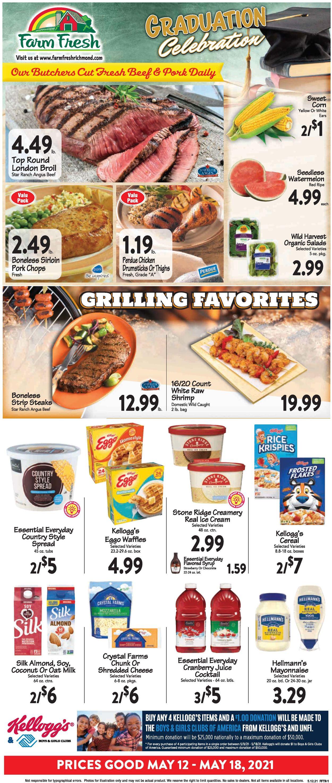 Farm Fresh Weekly Ad Circular - valid 05/12-05/18/2021