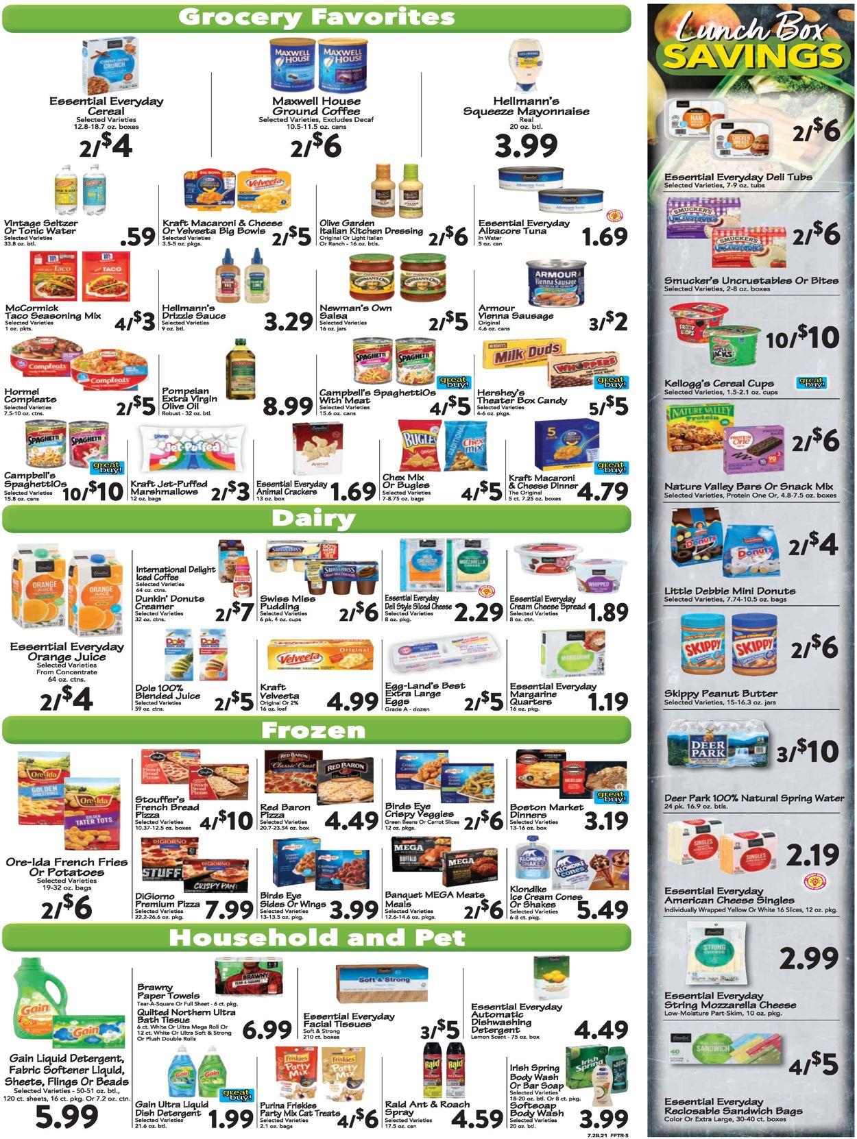 Farm Fresh Weekly Ad Circular - valid 07/28-08/03/2021 (Page 3)