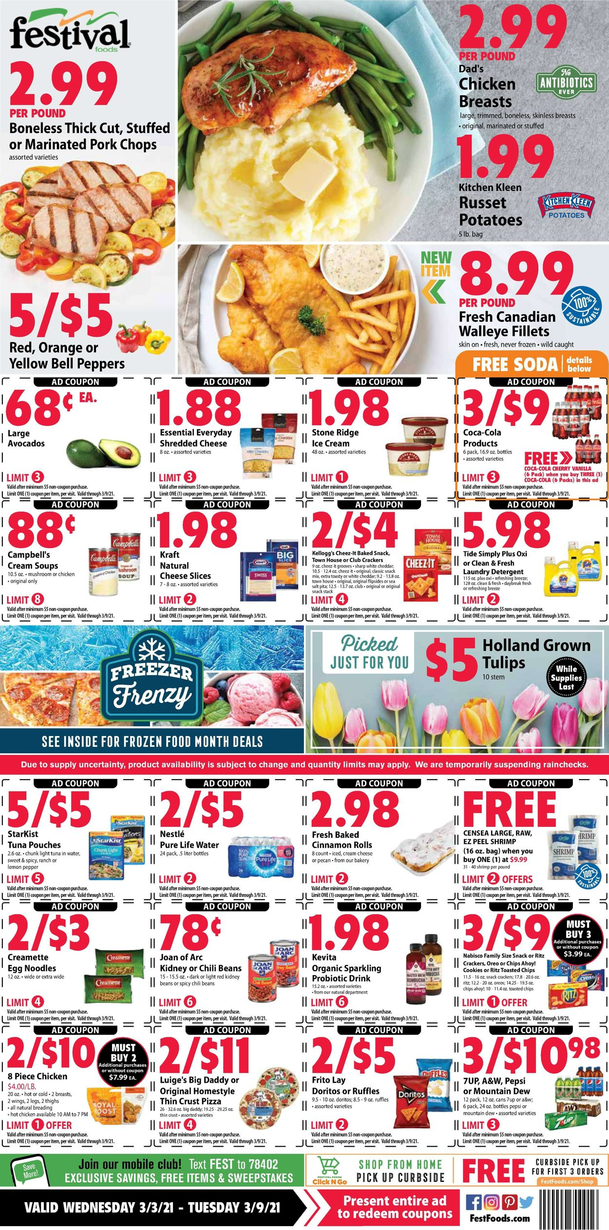 Festival Foods Weekly Ad Circular - valid 03/03-03/09/2021