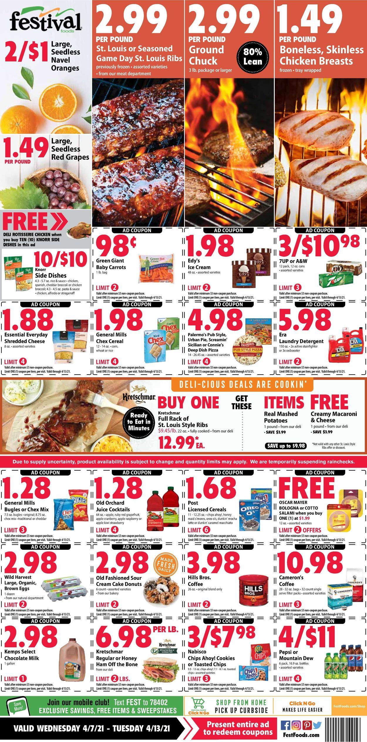 Festival Foods Weekly Ad Circular - valid 04/07-04/13/2021