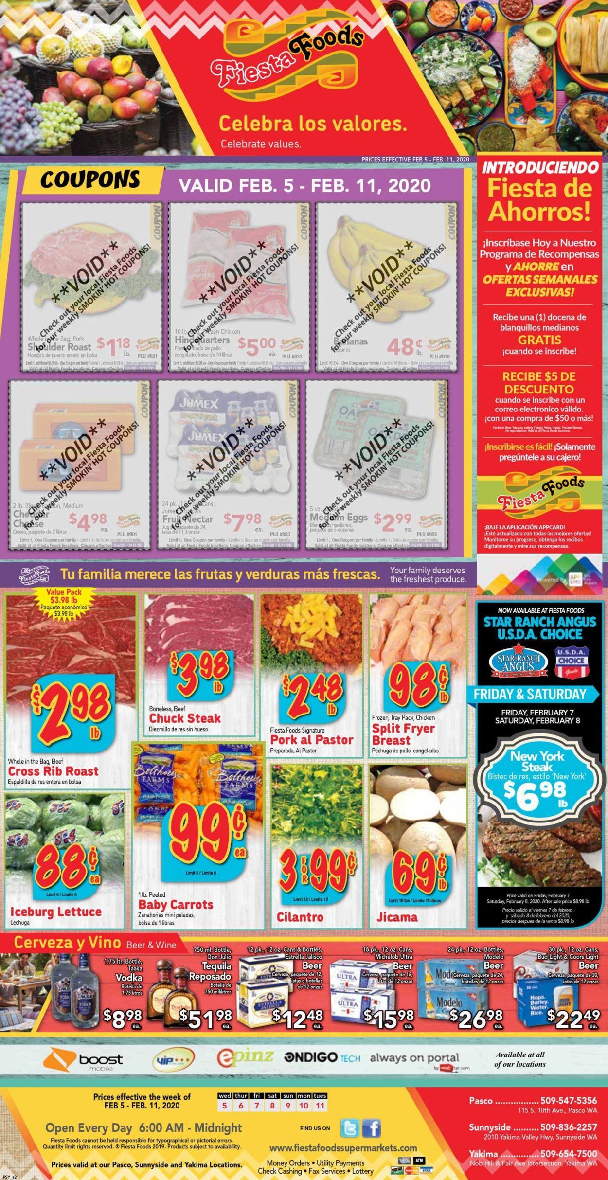 Fiesta Foods SuperMarkets Weekly Ad Circular - valid 02/05-02/11/2020