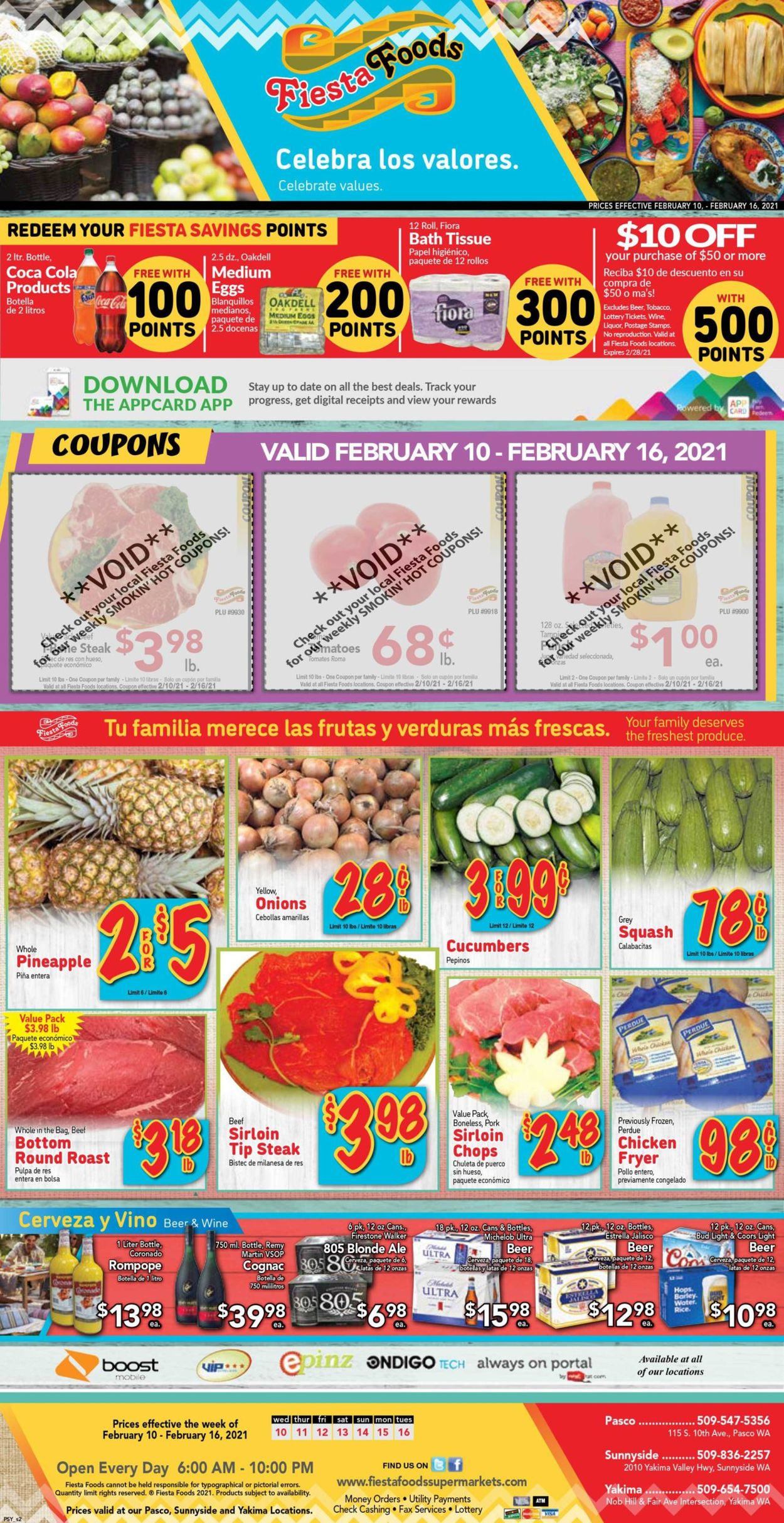 Fiesta Foods SuperMarkets Weekly Ad Circular - valid 02/10-02/16/2021